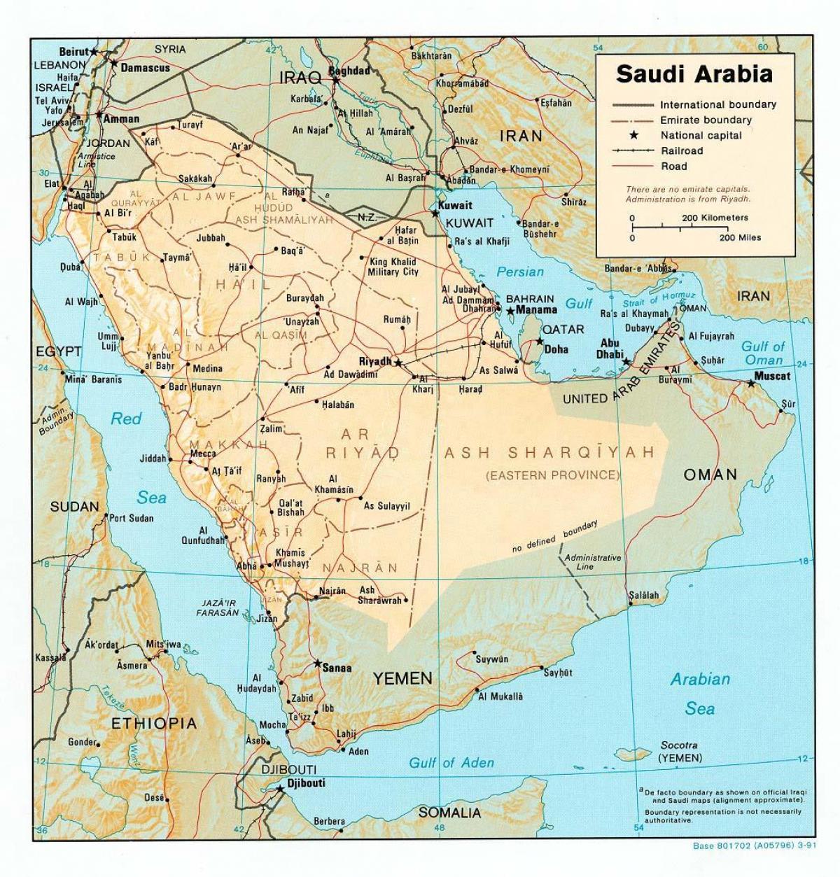 Map Of Saudi Arabia Saudi Arabia Map Hd Western Asia Asia
