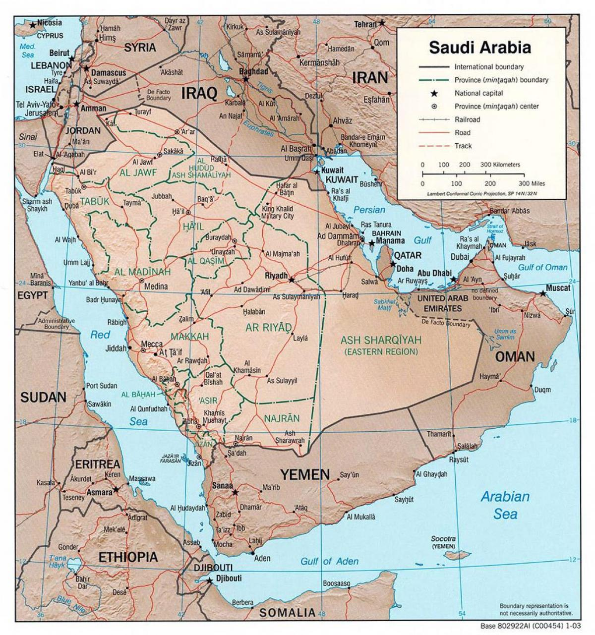 saudi arabia map with cities by road map of saudi arabia with